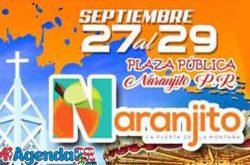 Fiestas Patronales de Naranjito 2019