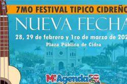 7mo Festival Típico Cidreño 2020