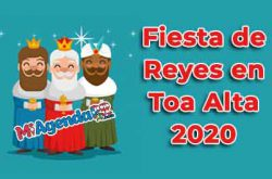 Fiesta de Reyes en Toa Alta 2020