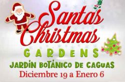 Santa's Christmas Garden en Caguas 2019