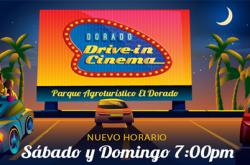 Dorado Drive-In Cinema en Parque Agroturístico