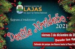 Desfile Navideño en Lajas 2021