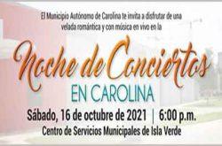 Noche de Conciertos en Carolina 2021